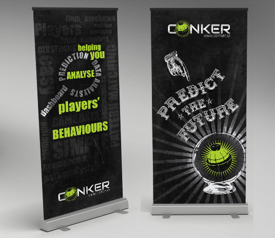 Conker Pull Up Banners